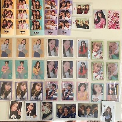TWICE Photocard What is Love, Sticker, The Story Begins, Cheer Up, Twicetagram