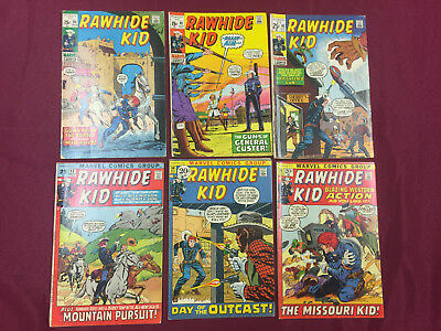 Rawhide Kid #90-96 Lot 6 Books in Avg. 6.0 FN Western Classics B@@yah!