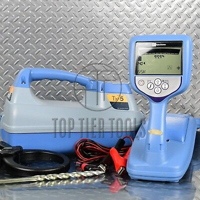 Radiodetection RD7000 DL Tx5 Cable/Pipe Locator Utility Line Tracer CPS rd8000