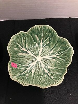 Bordallo Pinneriro Cabbage 6.5 Inc Bowls Handmade Majolica Set Of 4
