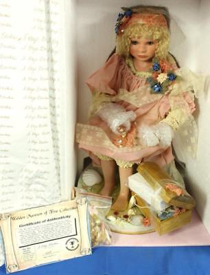 """Welden Museum Sea Child's Treasure 21"""" Porcelain Doll #269/1500 by S. Kaye Banks"""