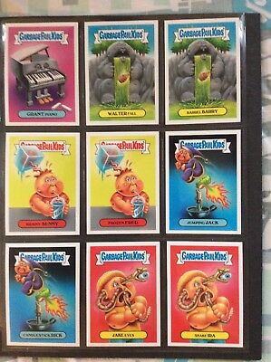 Garbage Pail Kids 2017 Online Classic #8 40 Card Complete Set Plus Sketch Card