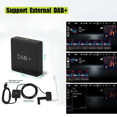 DAB+Box Digital Radio Antennen Tuner FM USB Android5.1/Über Auto Multimedia X3H7