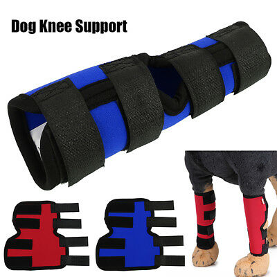 2Pcs/1 Pair Leg Brace M/L Dog Size Knee Protector Hock Pet ACL Therapeutic Hind