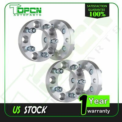 """4X 1"""" 5x5 to 5x4.5 5x127 to 5x114.3 Wheel Spacers for 08-14 Dodge Grand Caravan"""