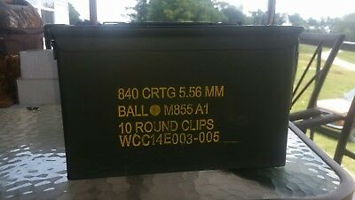 12x7 Steel Ammo Can
