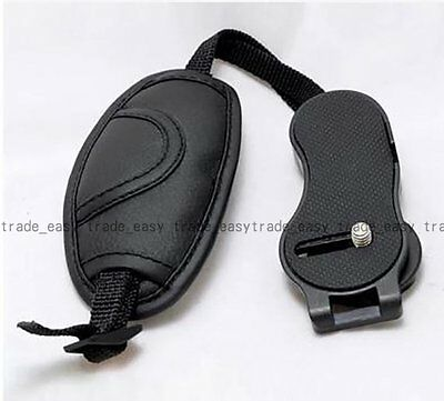 Camera Hand Grip for Canon EOS Nikon Sony Olympus SLR/DSLR Leather Wrist Strap