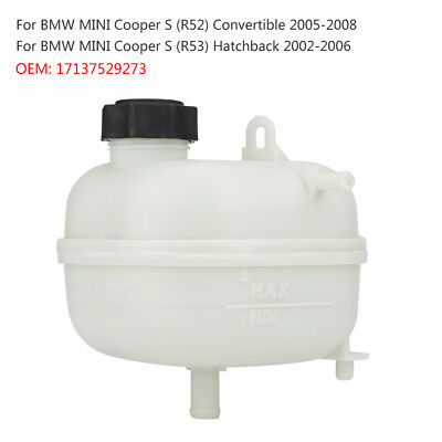 Coolant Reservoir Radiator Expansion Overflow Tank For BMW MINI R52 R53 COOPER S