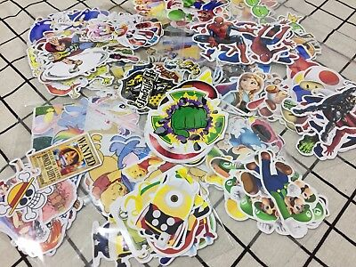 Minion sonic mario Harry Potter Pikachu Naruto stickers decal candy bag seals