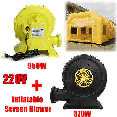 2Pcs Blowers Air System Set for Inflatable Custom Spray Tent Car Paint Booth