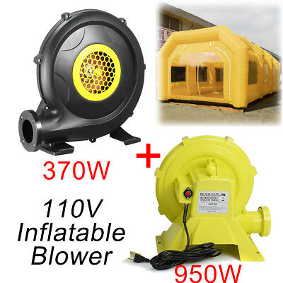 2Pcs 110V Blower Air System Set for Inflatable Custom Spray Tent Car Paint Booth