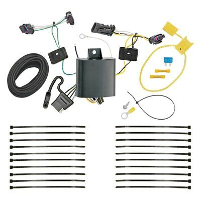 04-10 volkswagen vw touareg trailer hitch & wiring harness combo kit on  2001 jetta