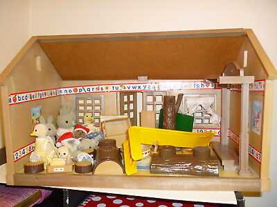 Sylvanian Families House? with Animals and Accessories Used
