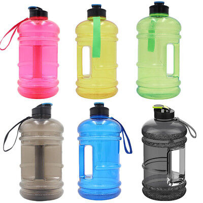 1.3/ 2.2L Outdoor Large Capacity Drink Water Bottle Sport Gym Training Kettle