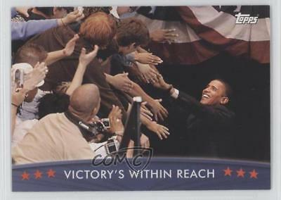 2008 Topps President Obama Collector Trading Cards 32 Victory's Within Reach 1md