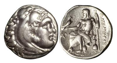 Macedon: Philip III silver drachm in name and types of Alexander III (The Great)