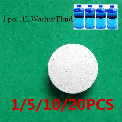 Multifunctional Effervescent Spray Cleaner Windscreen Cleaning Agent Pills HE