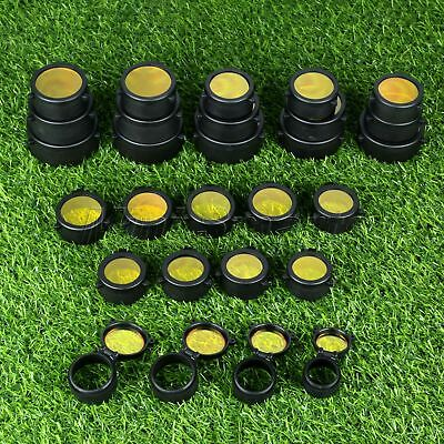 1×Rifle Scope Protector Cover Flip Up Quick Spring Telescopic Lens Cap 30-69mm
