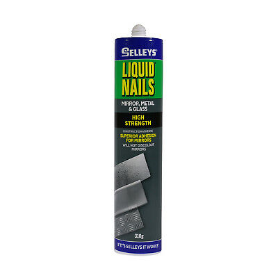 Selleys 310g Liquid Nails Mirror Metal And Glass