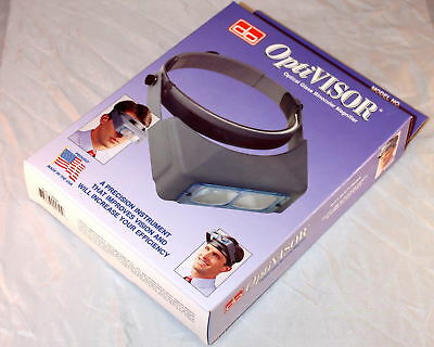 Originale Visore Optivisor Donegan Made in Usa varie gradazioni