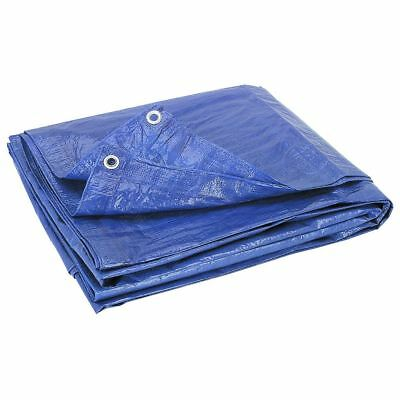 Tarpaulin Heavy Duty Waterproof Strong Blue With Eyelets Cover Ground Sheet Tarp