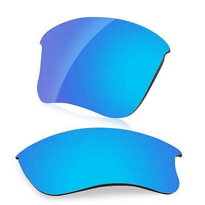 d25c3b5c9b9 Dynamix Polarized Ice Blue Replacement Lenses for Oakley Flak Jacket XLJ