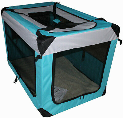 HUGE 122CM Pet Dog Soft Crate Portable Carrier Travel Cage Kennel Folding XXXXL