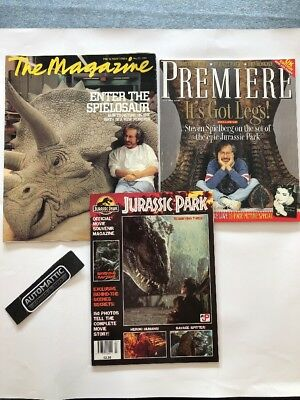 Jurassic Park – Official Movie Souvenir Magazine - Sunday Times - Premiere Mags