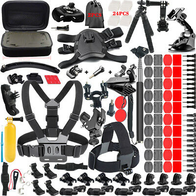 Gopro Accessories Outdoor 50-in-1 Kit Accessory for GoPro Hero 3+ 4 5 2 1 Camera