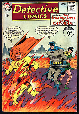 Detective Comics 325, Versus Cat-Man. Off White/white Pages.