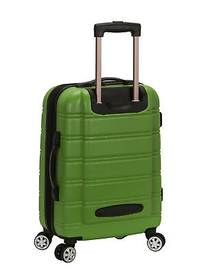 Rockland Luggage F145 Melbourne 20 in. Expandable ABS Carry On Luggage