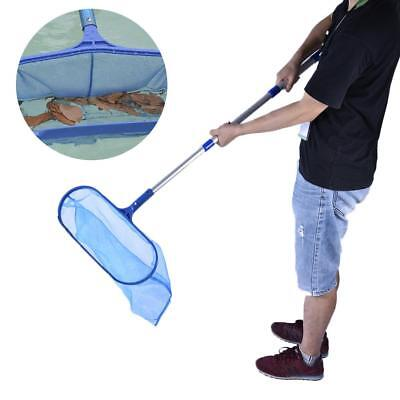 Swimming Pool Spa Leaf Cleaning Net Skimmer with Detachable Telescopic Pole