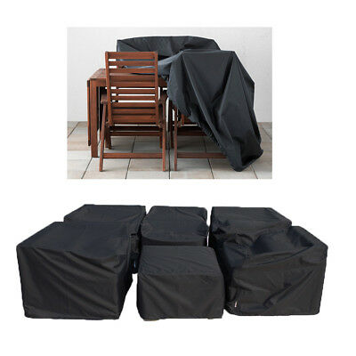 Garden Furniture Rain Protection Outdoor Heavy Duty Waterproof Rattan Cube Cover