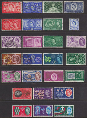 1953/62 Complete Commemorative Year Set ( 10 Sets ) Good/fine Used