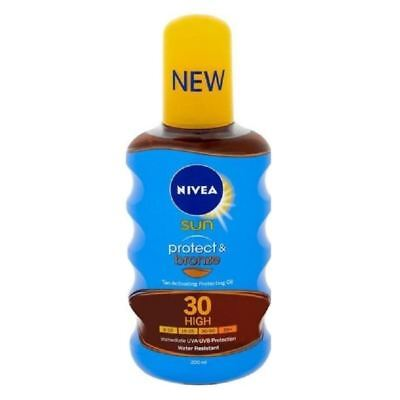 Nivea Sun Protect & Bronze SPF 30 spray 1 2 3 6 12 Paquets