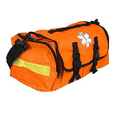 First Responder Emt Paramedic On Call Trauma Bag W/ Reflectors Orange 17X7X7