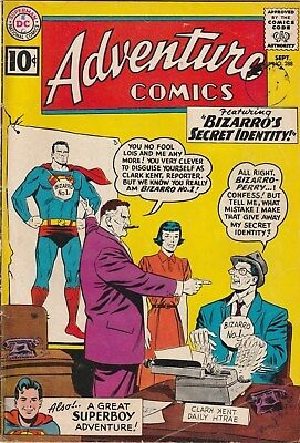 Adventure Comics. Number 288. 10 Cent Dc Comic. 1961. Bizarro Cover And Story