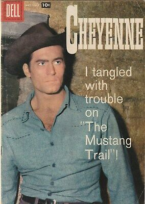 Cheyenne  Number 7. Dell Comics .tv Related. Western  1958.