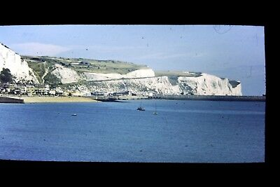 White Cliffs of Dover 17/08/1958. Vintage 35mm slide (ref y40)