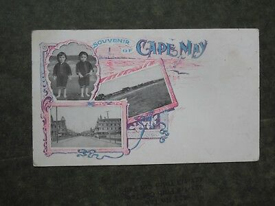 Post Card H85675  Private Mailing Card  Souvenir of Cape May c-1898-1907