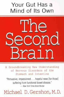 The Second Brain by Michael Gershon 9780060930721 (Paperback, 1999)