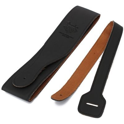 Soft Thick Strap Belt For Electric Acoustic Guitar Bass PU Leather Handicraft