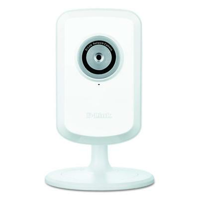 D-Link Motion Detection Remote Viewing Camera w/ Wireless In-Home Network, White