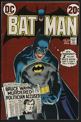 Batman #245 Neal Adams Cover And Art. Nice White Page Quality