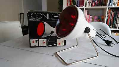 Condel 5003 infrared lamp Infrarot infrarouge 1970 space age vintage design