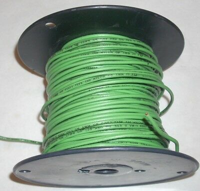 12 AWG Green Solid Copper Insulated THHN Electrical Wire 5 lb 10.2 oz