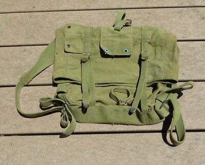 WW2 USMC US Marine Corps Boyt 1944 Upper Field Gear Pack Backpack