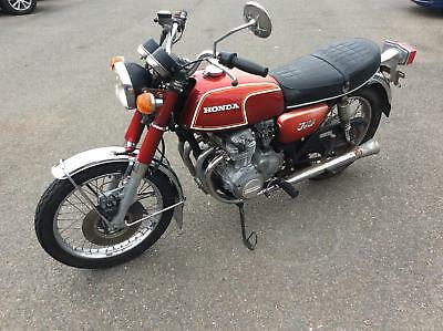 Honda CB350 Four 1972 Classic Japanese Bike For Restoration.