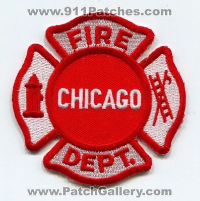 Chicago Fire Department Patch Illinois IL v7