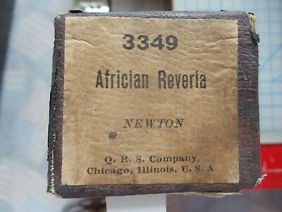 65 NOTE PIN End Player piano roll 3349 Africaian Reveria